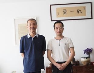 国家画院刘牧合影