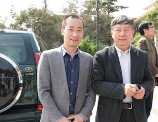 中国美协党组书记吴长江合影