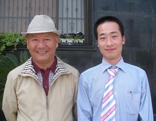 国家文联副主席丹增合影