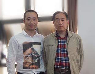 山东省美协副主席曾先国合影