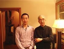 中国美术家协会名誉主席靳尚谊合影