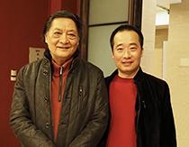 中国美术家学协会理事郭怡宗合影