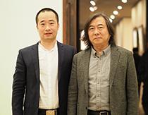 山东省美术家协会主席张望合影