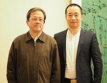 中国美术家协会副主席冯远合影