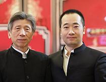 中国美术家协会主席范迪安合影
