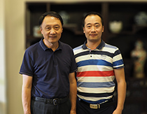 中国美术家协会副主席王明明合影