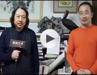 浦君艺术受到天津画院院长贾广健先生倾力支持