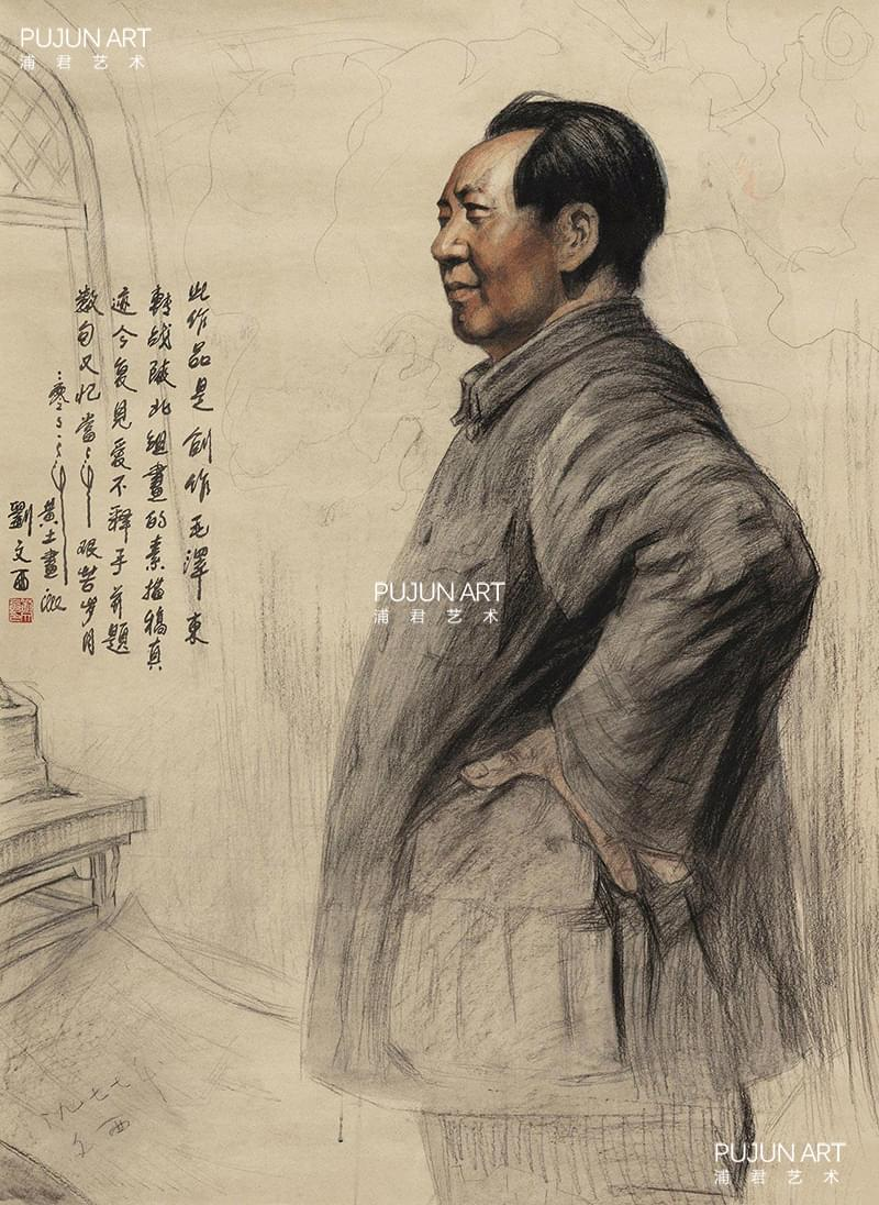刘文西人物画作品3