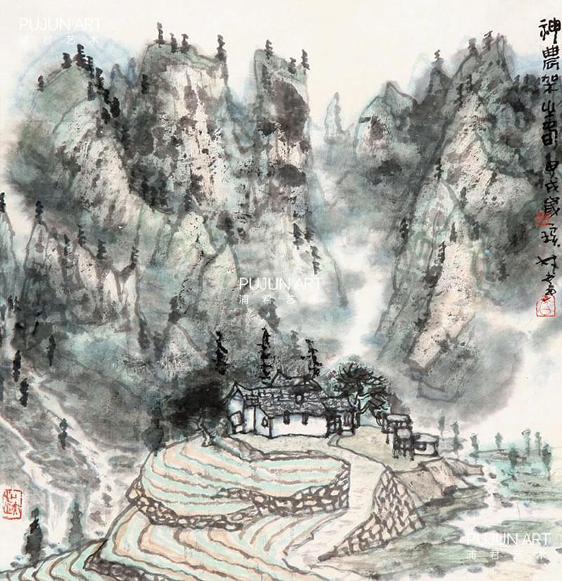 李宝林作品 神农架之春