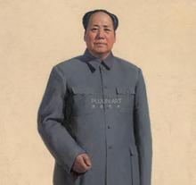 靳尚谊  毛泽东全身像