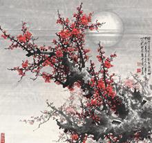 王成喜梅花作品《春满乾坤》