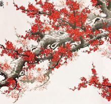 王成喜作品《红梅》