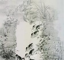 李夏夏2011年作品《清泉石上流》