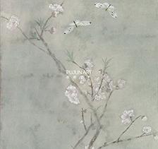 画家李夏夏2017年作《恋》