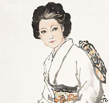 刘文西人物画作品4