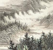 曾先国山水画3