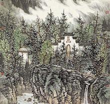 曾先国山水画4