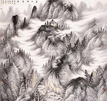 曾先国山水画6