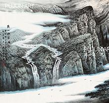 曾先国山水画7