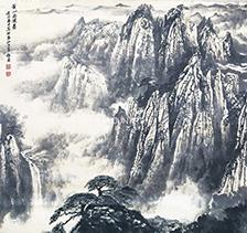 程振国山水画5