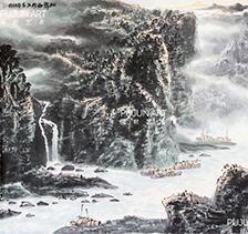 程振国山水画6