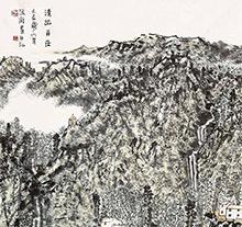 赵卫山水画作品