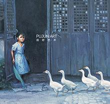 周瑞文油画