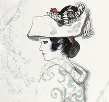 刘文西作品 日本新娘