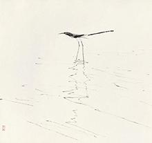 黄永玉作品 水鸟