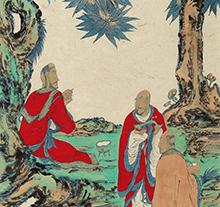 范扬2014年作 说禅图