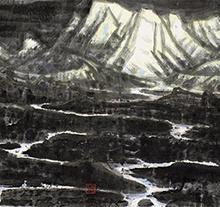 李宝林2004年作 江河源流
