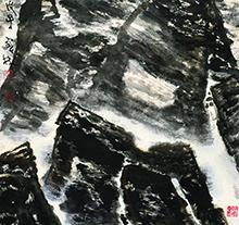 李宝林2008年作 新疆风骨