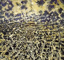 许江2000 年作 大北京·紫禁城