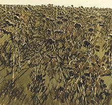 许江2005年作油画