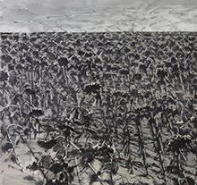 许江2006年作 葵园十二景之朔风流