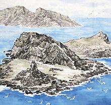 苗再新作品 中国钓鱼岛