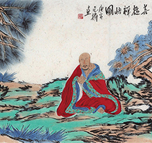 范扬2010年作 禅悟图