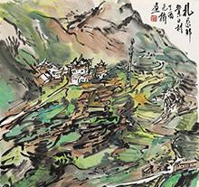 范扬2017年作 扎尕那业日村