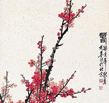 王成喜1983年作 春 立轴