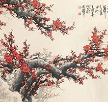 王成喜《红梅》
