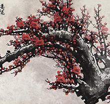 王成喜2003年作 一树独先天下春