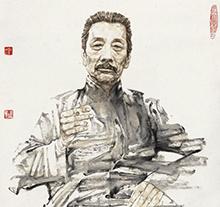 赵建成2011年作 先贤录—鲁迅