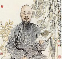 赵建成2012年作 柳亚子像