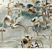 贾广健作品 雪韵