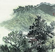 张复兴山水画作品