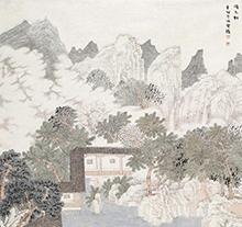 魏云飞2011年作 倚玉轩