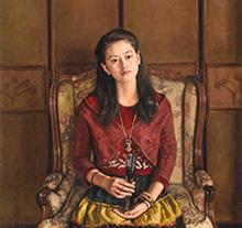 杨飞云油画作品《《红酒》》