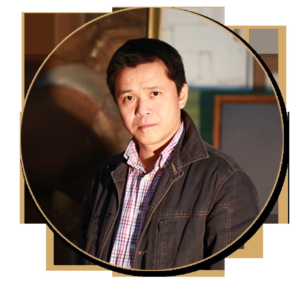 中国美术家协会副主席庞茂琨先生