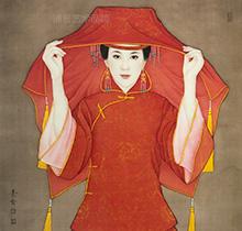 中国红系列 新娘一