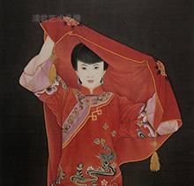 中国红系列《新娘二》